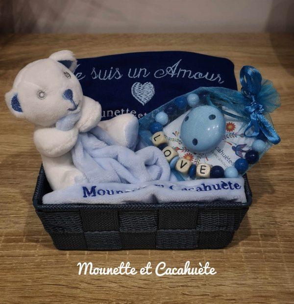 panier d'Amour bleu